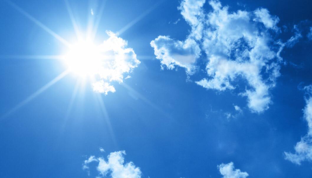 Statistikere har bekreftet det klimaforskere allerede vet: Den globale oppvarmingen fortsetter. (Illustrasjonsfoto: Colourbox)