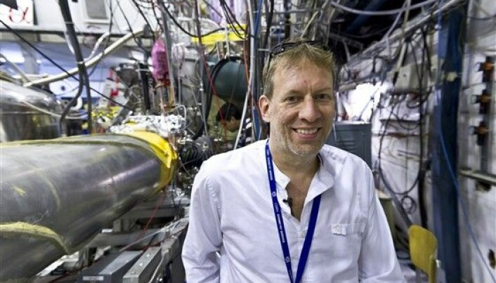 First ever quantum leap in antihydrogen atoms