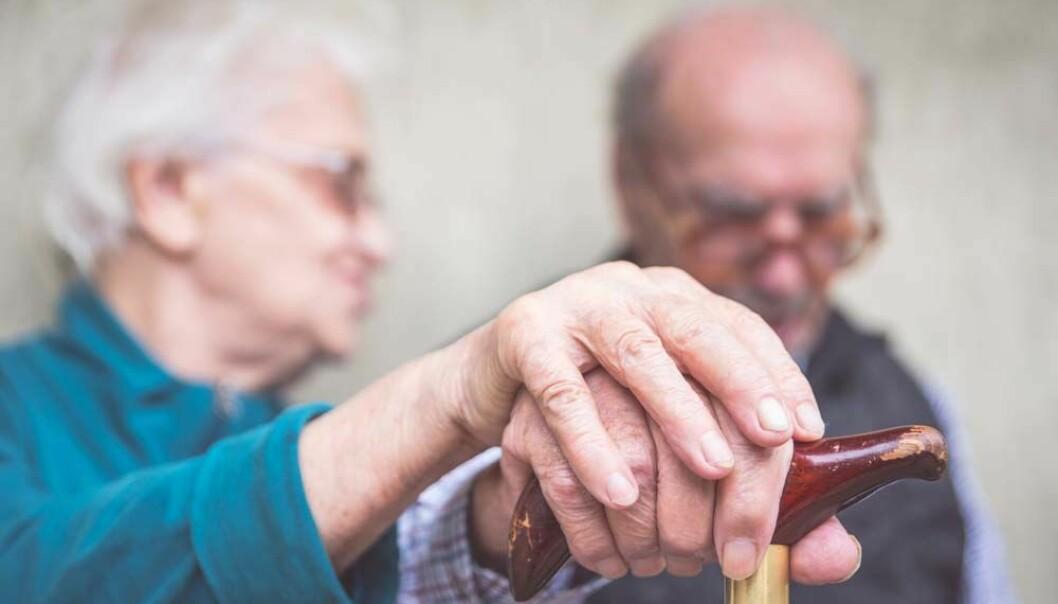 Mange eldre kan ha lave nivåer av D-vitamin, også i Norge. (Illustrasjonsfoto: Microstock)