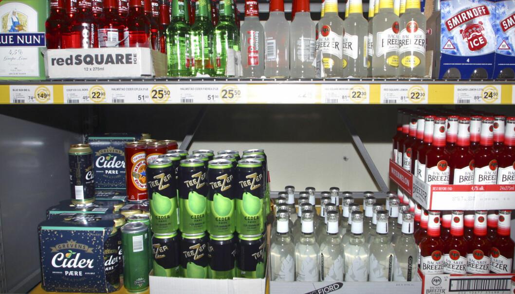 Rusbrus endte opp i dagligvarehyllene selv om norske myndigheter ønsket det inn på Vinmonopolet. (Foto: NTB scanpix)