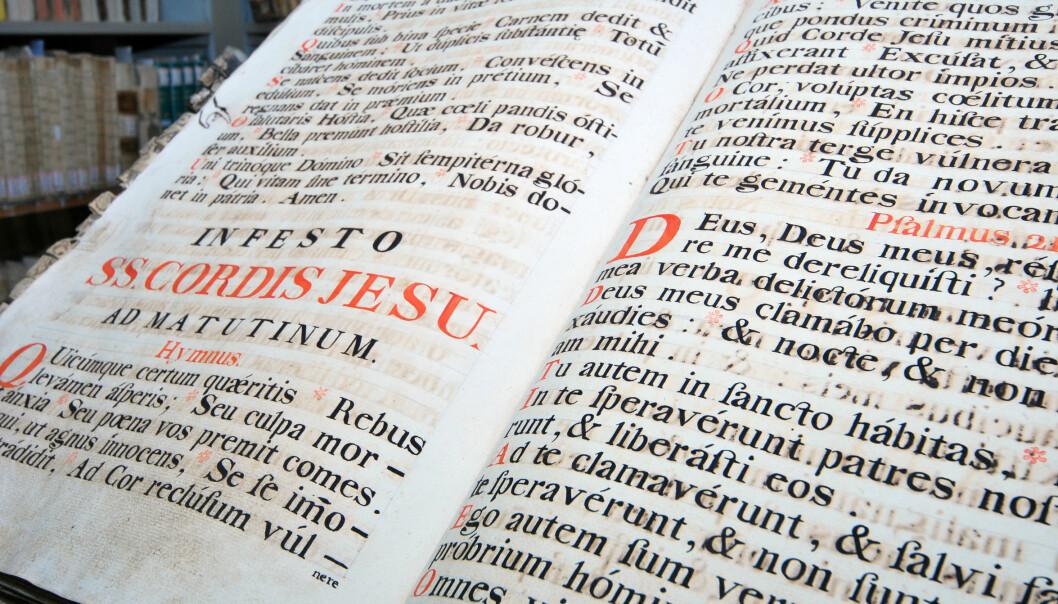 Gresk er eldre enn latin, men romerne klarte å spre språket sitt i større områder.  (Foto: Microstock)