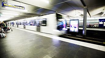 Bedre plass på T-banen med god informasjon