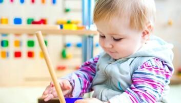 Forskningsprosjektet Barns sosiale utvikling har fulgt rundt tusen barn fra fem østlandskommuner, fra barna var seks måneder gamle.  (Illustrasjonsfoto: Colourbox)