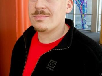 Ketil Lenert Hansen. (Photo: Elisabeth Øvreberg)
