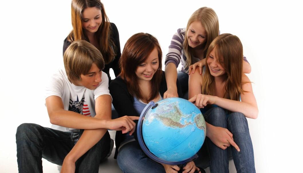 – Ungdommene ser seg selv i nytt lys, åpner seg mer og vil være en aktiv del av verden, sier Åsa Karlsson Perez om videregåendeelevene hun har intervjuet. (Illustrasjonsfoto: Microstock)