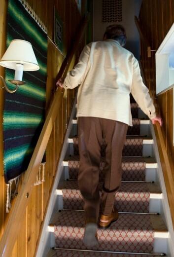 Mange eldre opplever at deres sønn eller datter som er utskrevet fra en rusinsitusjon eller fra psykiatrien flytter hjem til dem. Noen av dem får vanskelige liv med psykisk eller fysisk vold fra sine nærmeste.  (Foto: Gorm Kallestad, scanpix)
