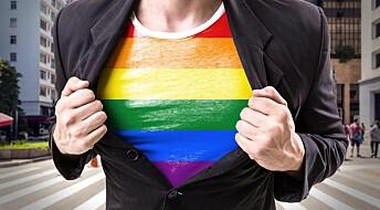 Ubrukelig homoradar