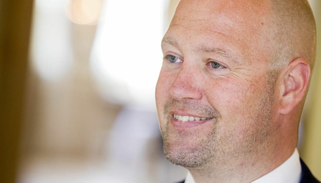 Da justisminister Anders Anundsen (Frp) nyleg tok i bruk video for å fortelje veljarane om alt det positive regjeringa har gjort, vart det debatt.  (Foto: Vegard Wivestad Grøtt, NTB scanpix)