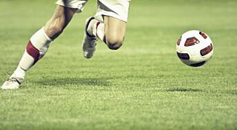 Fotballtrening gjør utrente mer smidige