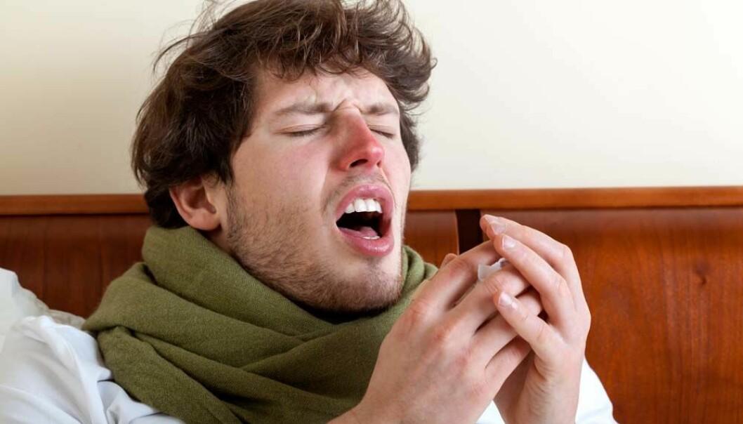 Ny forskning kan tyde på at søvn påvirker motstandskraften mot forkjølelser.  (Illustrasjonsfoto: Microstock)