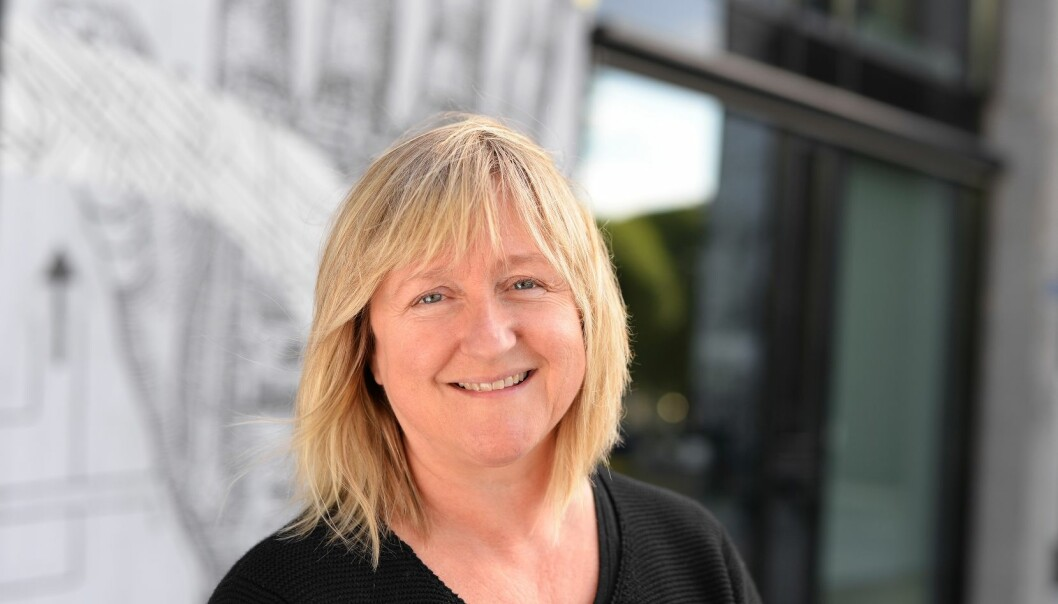 Grete Haaland er professor ved yrkesfaglærerutdanningen ved Høgskolen i Oslo og Akershus. Hun mener at det bør stilles strengere krav til at yrkesfaglærerne faktisk har arbeidserfaring i yrket de underviser i.  (Foto: Sonja Balci)