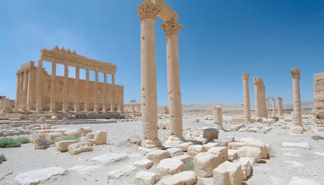 Forskere frykter flere ødeleggelser i Palmyra