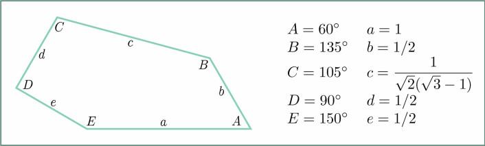 Femkant til venstre. Definisjon til høyre. (Foto: (Illustrasjon: Casey Mann, bearbeidet av Solveig Borkenhagen, forskning.no))