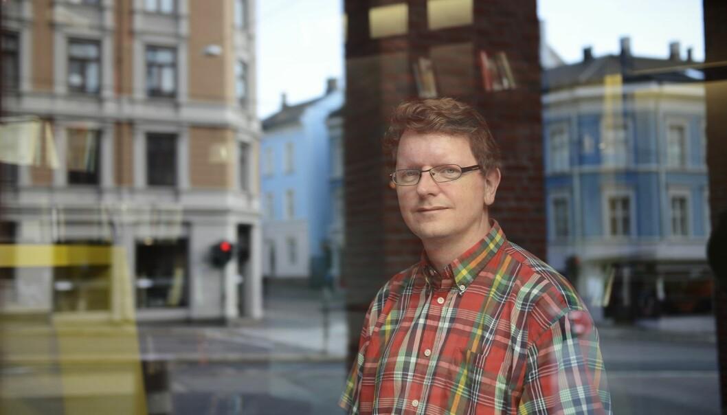 Bjørn Smestad er førstelektor i matematikk og studieleder ved Institutt for grunnskole- og faglærerutdanning på HiOA.  (Foto: Sonja Balci)