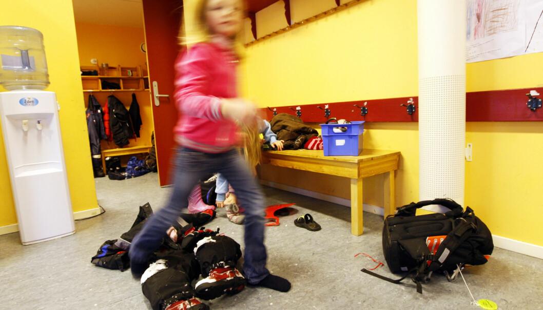 I praksis vet vi lite eller ingenting om hvordan seksåringene egentlig har det i norske klasserom, sier professor Sidsel Germeten som mener kunnskapsministeren må ta initiativ til forskning. (Illustrasjonsfoto: Lise Åserud, NTB scanpix)