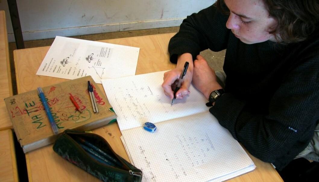 Elever som bor i en kommune med mer enn 50 prosent nynorskelever, har større sjanse for å få bedre resultat enn forventet på nasjonale prøver. Hvorfor det er slik kan ikke forskerne gi et godt svar på. (Foto: Berit Keilen, scanpix)