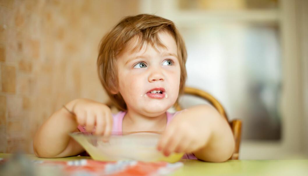 – Barn kan ikke lures til å spise sunt