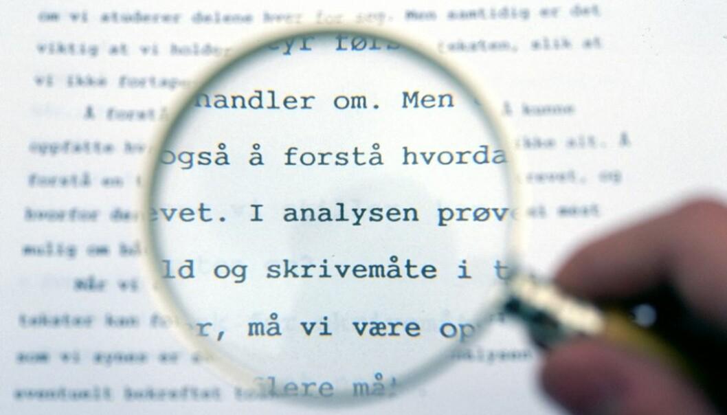 Få bokmålstekster er skrevet på skikkelig radikalt bokmål.  (Foto: Colourbox)