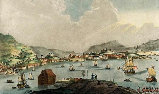 Trender i de norske kjøpstedenes utenrikshandel 1786-1790