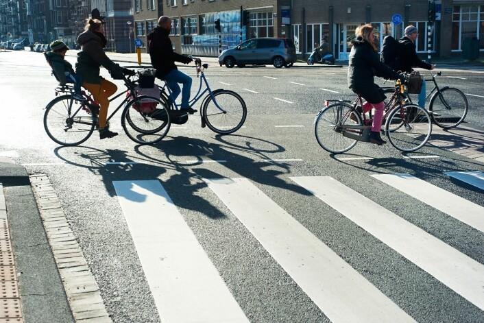 Amsterdam. Luftmotsdanden bli mindre og risikoen for dødelige ulykker går ned. (Foto: Colourbox)