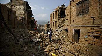Fortsatt store spenninger i bakken under Nepal