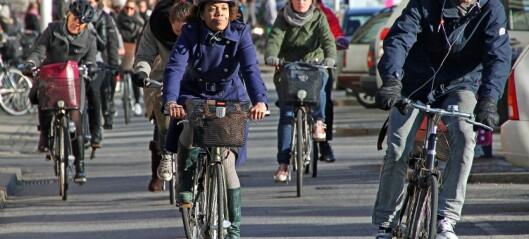 Er syklister tryggere i flokk?