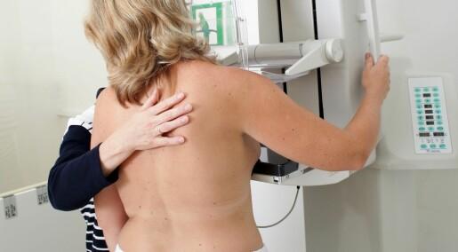 Hormoner forklarer ikke økningen i brystkreft