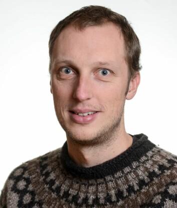 Forsker Ola Fredin. (Foto: NGU)