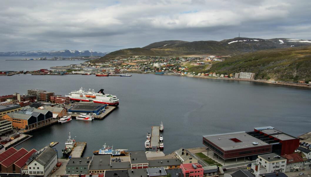 Bunnslam fra havna Hammerfest har vært under forskerlupen. (Foto: Microstock)