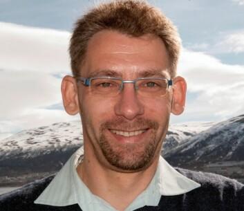 Odd Erik Garcia er konstituert instituttleder ved Institutt for fysikk og teknologi ved UiT. (Foto: Karine Nigar Aarskog)