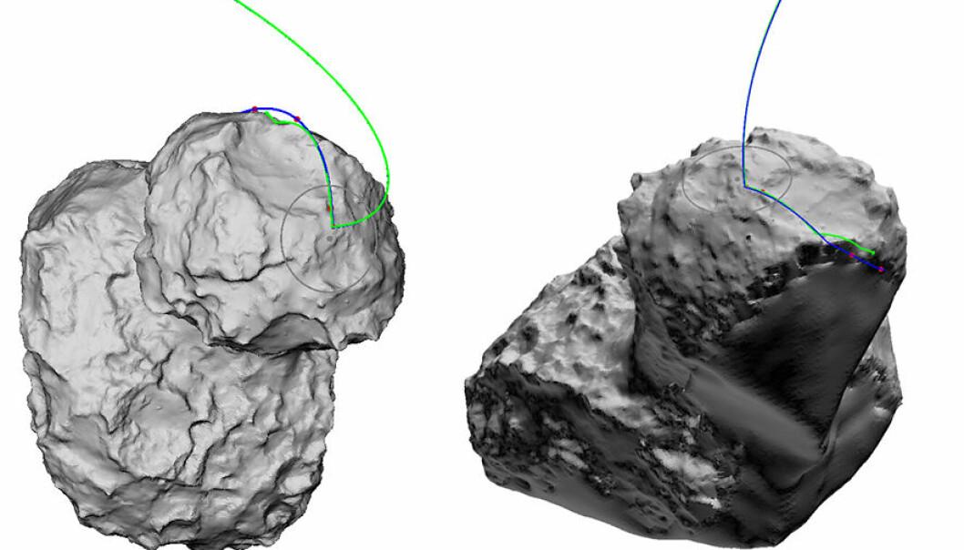 Philaes sprettlanding gir ny kometinnsikt