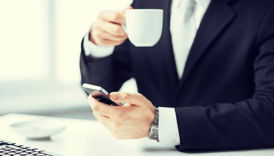Når du tar en pause fra jobben, skrur hjernen på det samme nettverket som når du sitter på Facebook og ser hva vennene dine gjør. (Illustrasjonsfoto: Microstock)