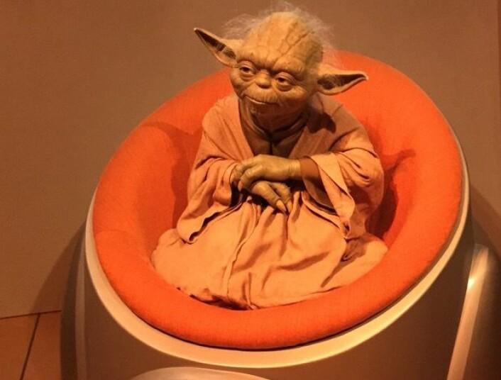 Både Yoda og jeg merket en tydelig forstyrrelse i Kraften da vi møttes i Berlin. Det skyldes nok den store El Ninjoen som er under oppbygging. (Bilde: T. Wahl)