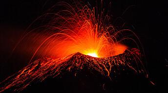 Vulkaner har påvirket mennesket i årtusener