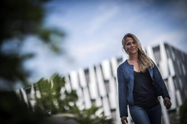 - Ledere bør støtte aktivt opp om både læringsfellesskap og oppgavefellesskap, sier Katja M. Hydle. (Foto: Torbjørn Brovold, BI)