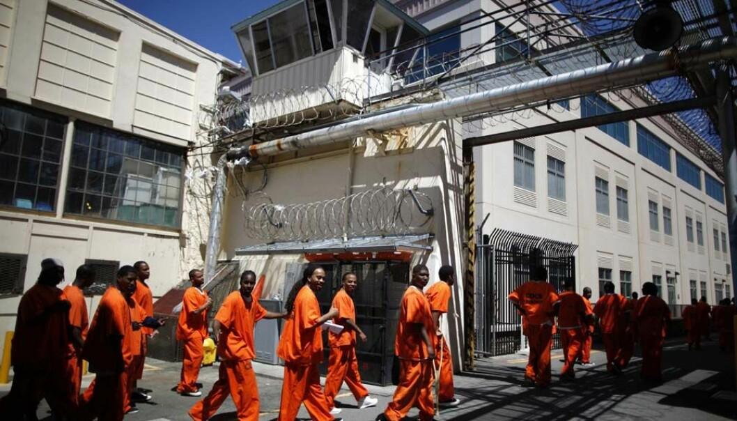 Utseende på ansiktet kan ha innvirkning på om en forbryter får dødsdom eller livstid, antyder en ny undersøkelse. Her er innsatte på dødscelle i San Quentin state prison i California.  (Foto: Reuters/Lucy Nicholson)