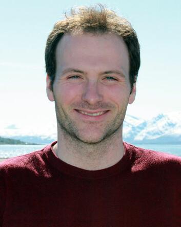 Seniorforsker Nicholas Warner ved NILU. (Foto: NILU)