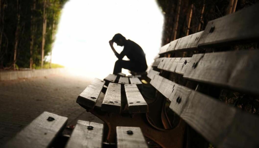 Pasientene som er med på å teste ut medisiner mot depresjon utgjør et smalt utvalg av gruppa som kommer til å bruke medikamentene.  (Illustrasjonsfoto: Microstock)