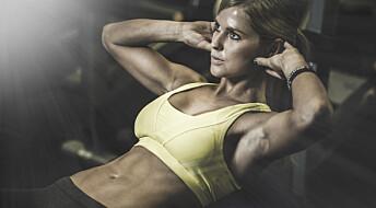 Fitnesskroppen krever ekstrem disiplin