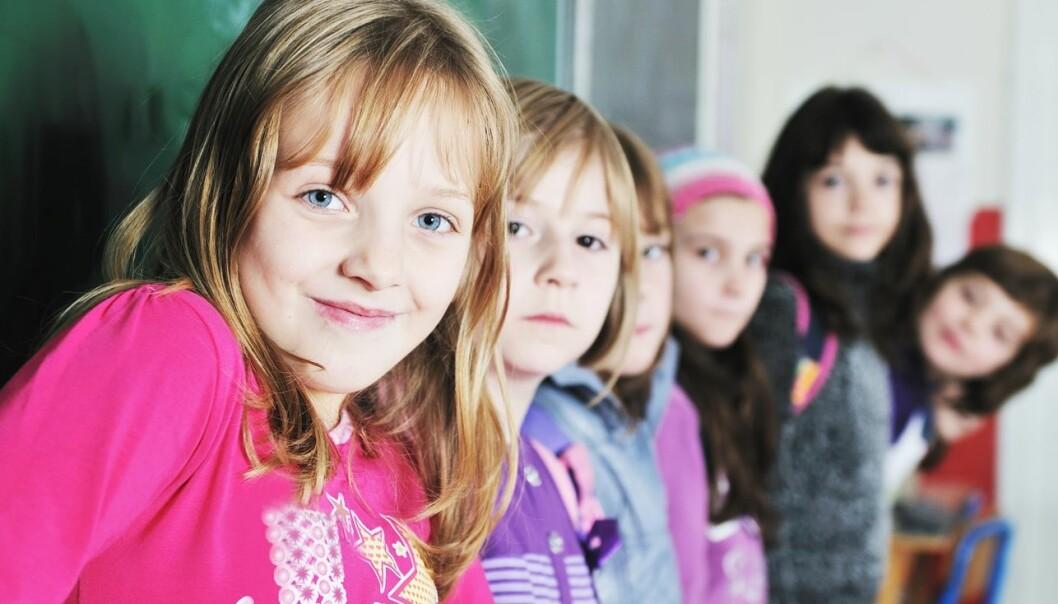 Studien Children's Worlds tar for seg barns trivsel og levekår og er den mest omfattende i sitt slag som noen gang er gjennomført. (Foto: Colourbox)