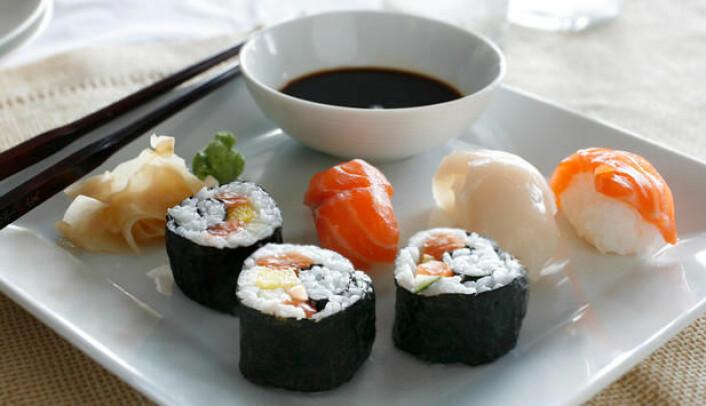 Sjømat er ei viktig kjelde til radioaktivitet i kroppen vår (Foto: Astrid Hals/www.godfisk.no)