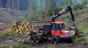 Hogstmaskinene kan gjøre skogbrukerne stressa
