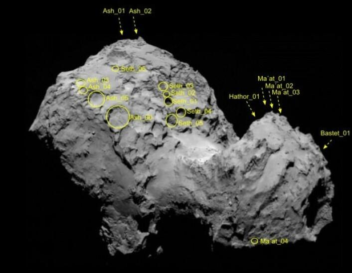 Et av de mange hullene som Vincent og teamet hans etterforsket.  (Foto: Vincent et al. 2015)