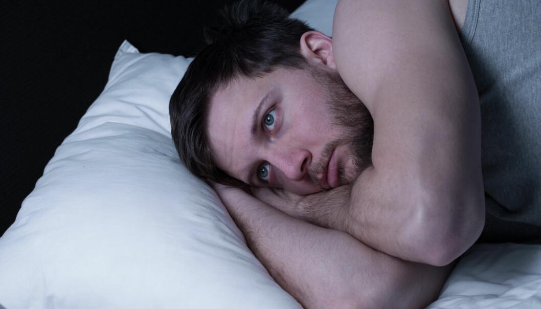 Mange nordmenn er plaget av søvnproblemer. (Foto: Microstock)