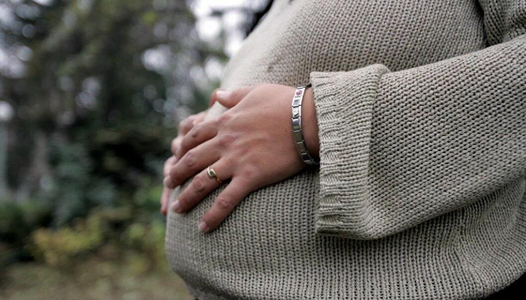 Blant gravide har sykefraværet økt med 61 prosent mer enn det har økt blant kvinner som ellers er i samme situasjon.  (Foto: Colourbox)