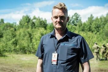 - Det store utvalget er enhver forskers drøm, sier Jan Oddvar Heimdal, psykologspesialist og seksjonssjef ved avdeling for militærpsykologi ved Forsvarets Høgskole. (Foto: Forsvaret)