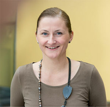 Maria Sandhaug ved Statped har forsket på funksjonsnivået folk har etter traumatisk hjerneskade, og har skrevet doktorgrad om emnet. (Foto: Statped)
