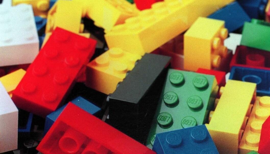 I en kreativitetstest fikk forsøkspersonene utdelt legoklosser. Det viste seg at de som fikk bygge hva de ville, var mer kreative enn de som måtte bygge en figur.  (Foto: Heiko Junge, NTB scanpix)