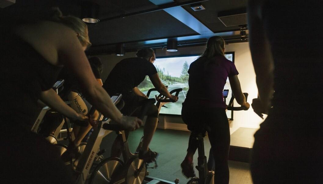 I tillegg til en tendens til mindre betennelse i kroppen, opplevde deltakerne også en liten reduksjon i BMI, fettprosent og midjemål, samt at muskelmassen økte som følge av treningsperioden, ifølge studien. (Illustrasjonsfoto: TT Nyhetsbyrån/ NTB Scanpix)