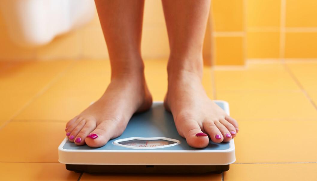 Vi legger mindre vekt på utskeielser enn på det vi gjør riktig når vi skal nå et mål, som for eksempel å slanke oss eller spare penger.  (Foto: Microstock)